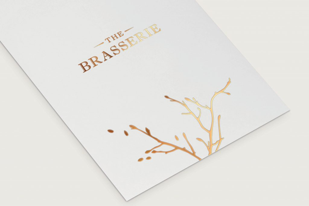 Aubrey Park Brasserie Menu | IM London | Independent Marketing