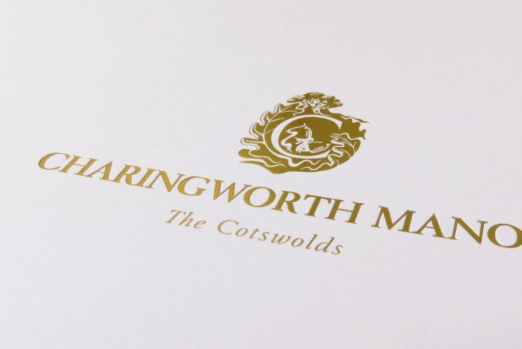 Charingworth Manor Wedding Brochure Cover - Classic Lodges | Independent Marketing | IM London