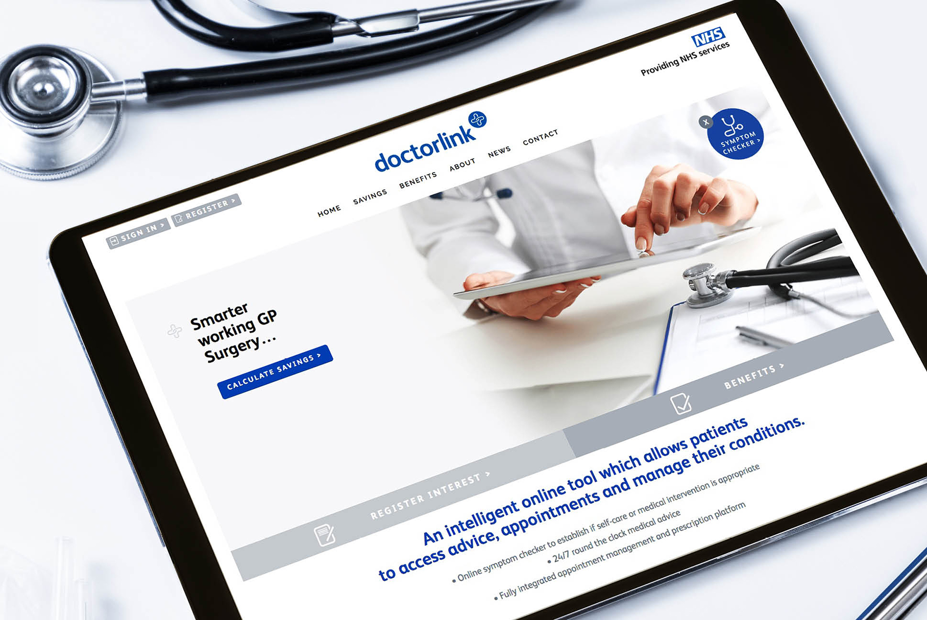 Doctorlink website