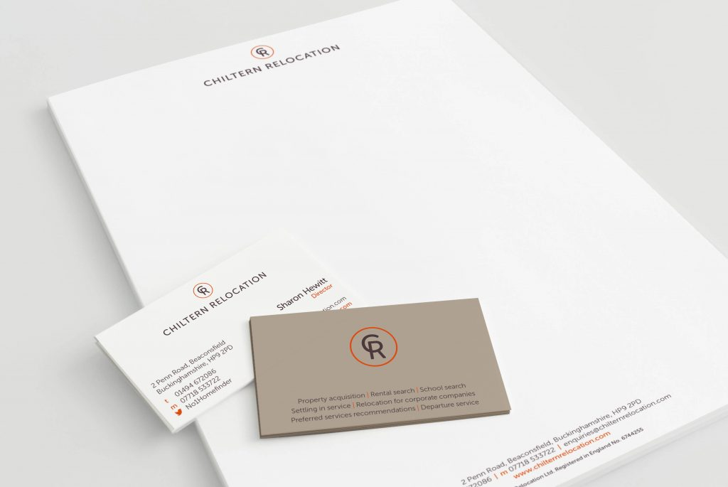 Chiltern Relocation Stationery