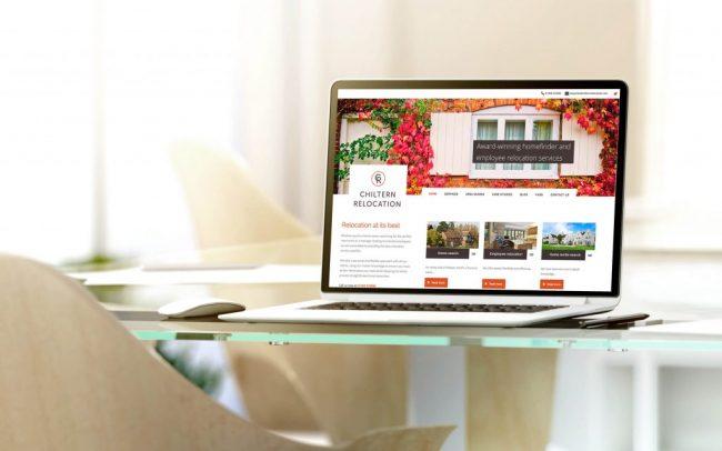 Chiltern Relocation website   IM London   Independent Marketing London   London Website Designer