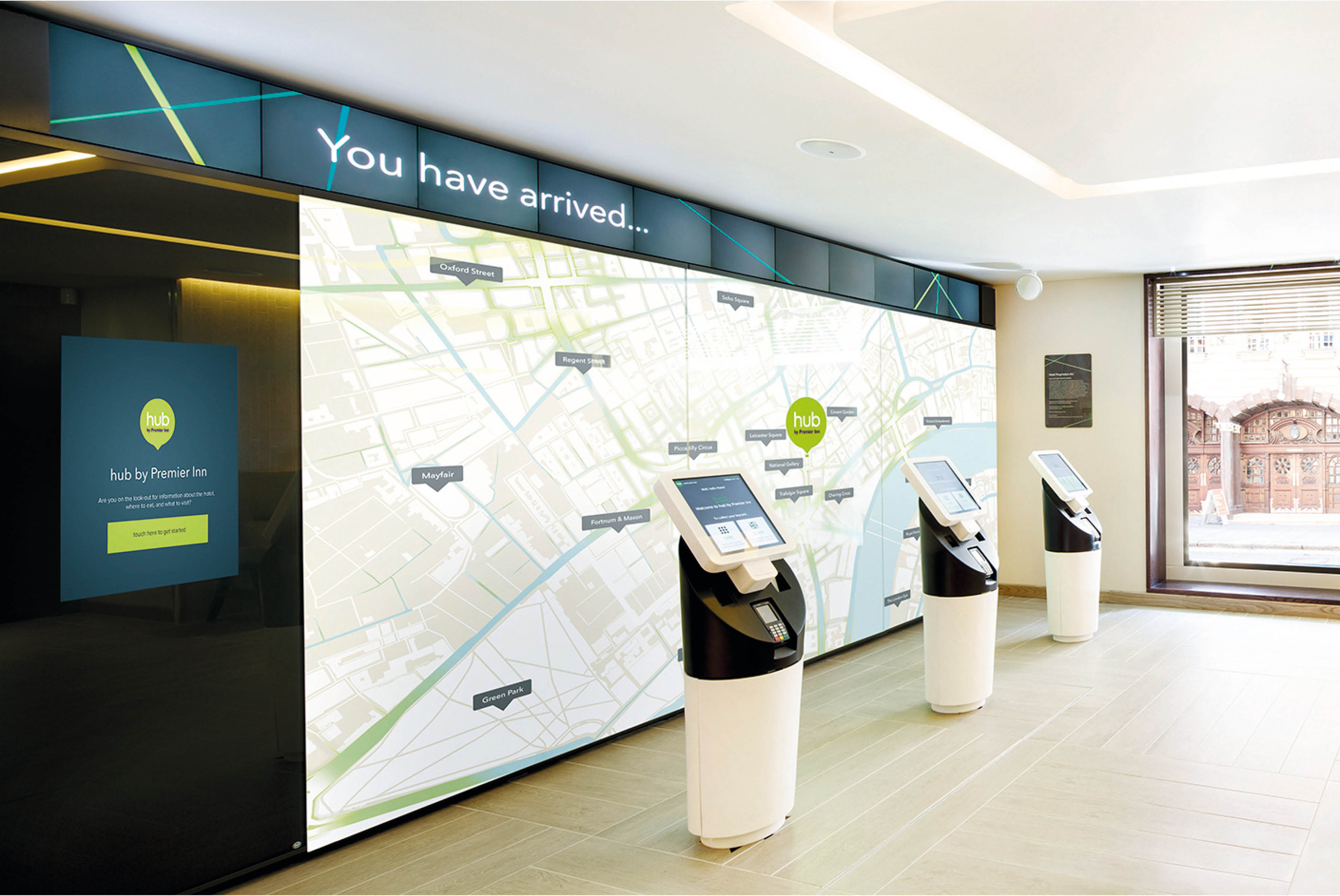 Hub by Premier Inn Signage | Independent Marketing Branding | IM London