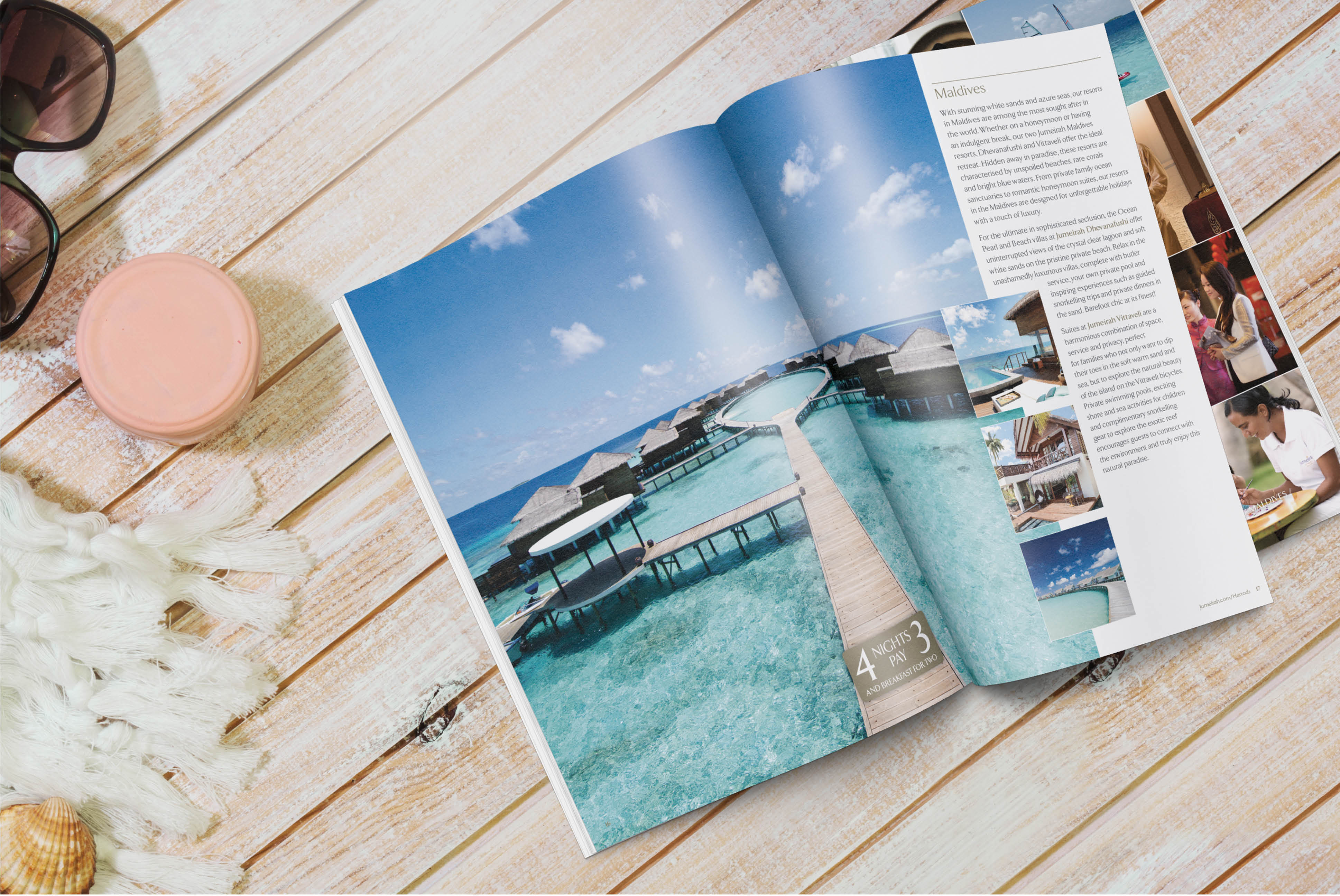 Jumeirah Hotels | Advertising and Creative Strategy - Brochure Design | Independent Marketing - IM London