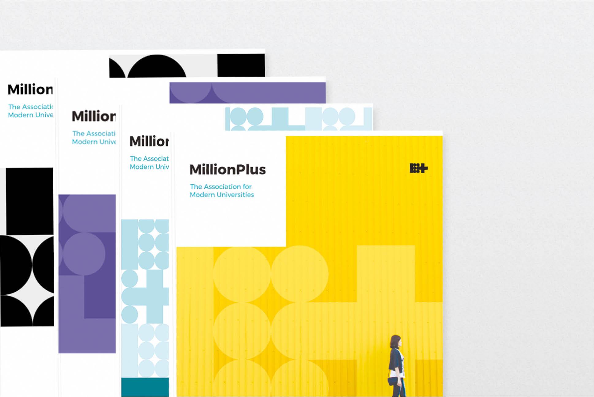 MillionPlus Report covers   Education Branding London   Independent Marketing London   IM London