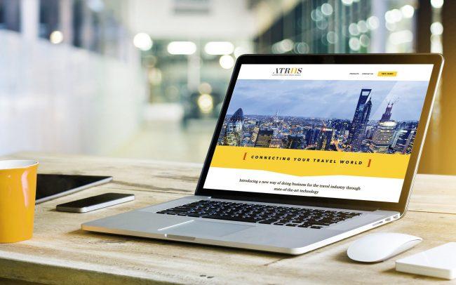 Atriis Website | IM London | Independent Marketing London | London Website Designer