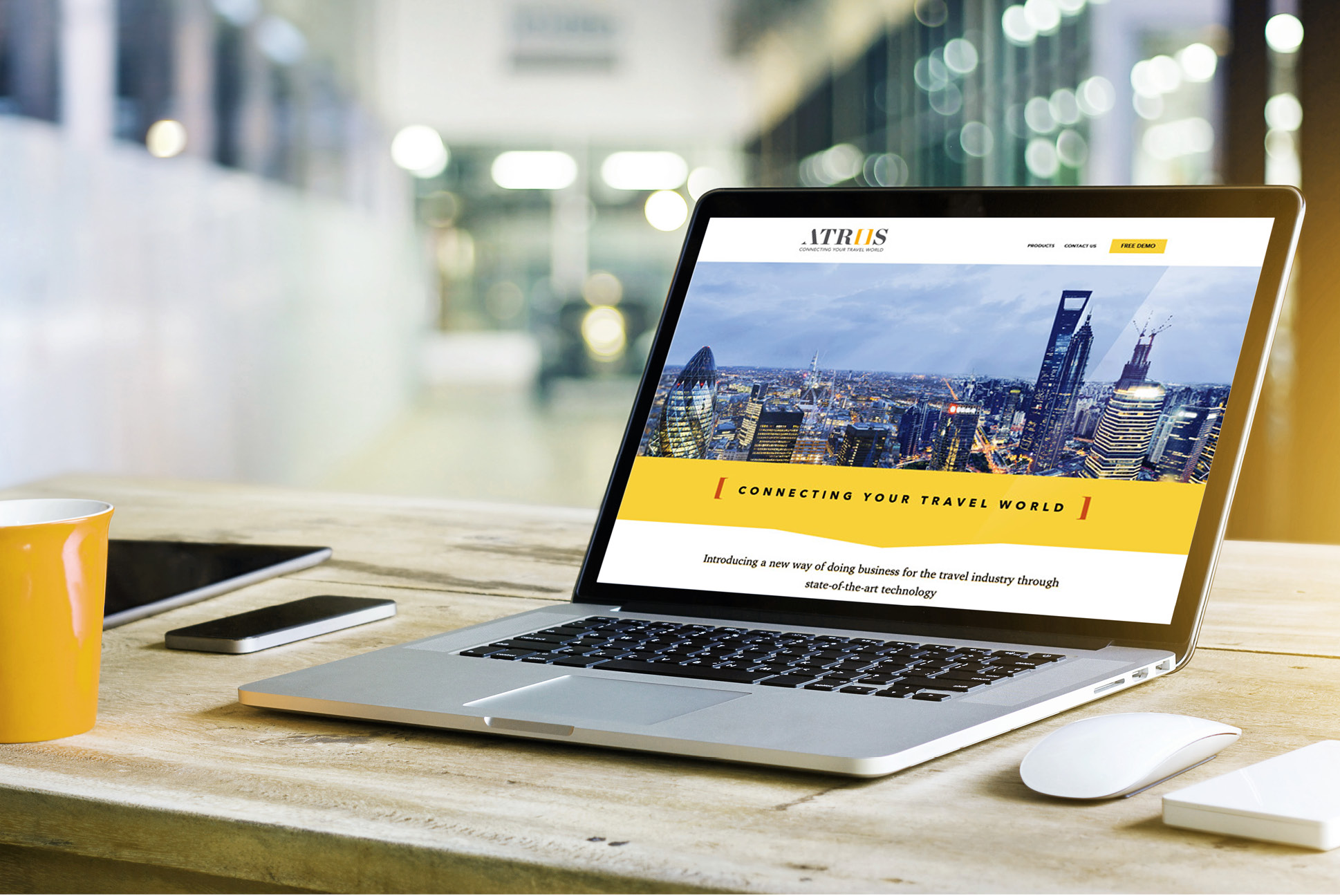 Atriis Website   IM London   Independent Marketing London   London Website Designer
