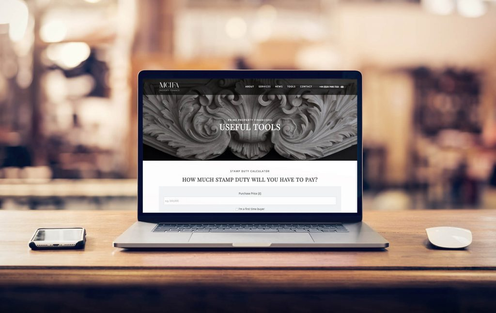 MCIFA Useful Tools website | London Branding Agency | Independent Marketing | IM London