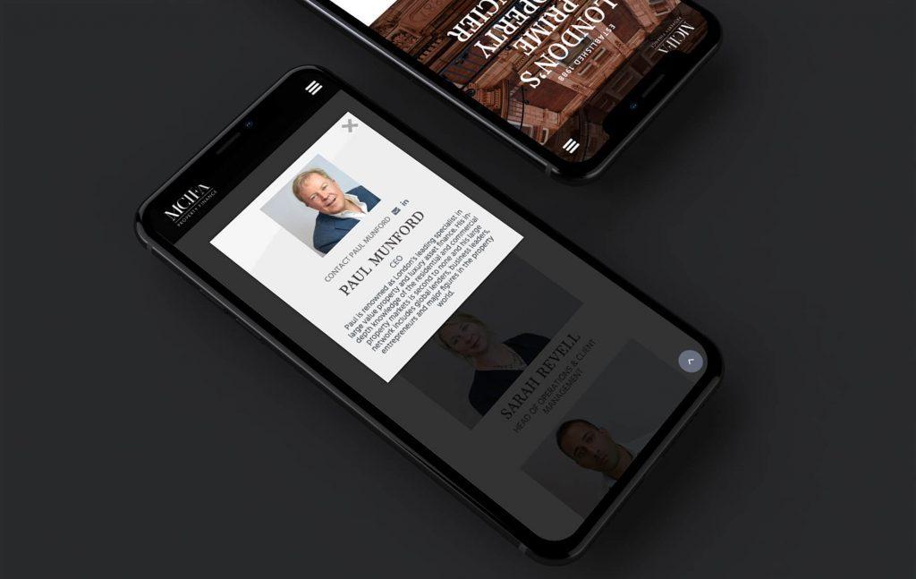 MCIFA Responsive Website | Independent Marketing - Website Design Services | IM London