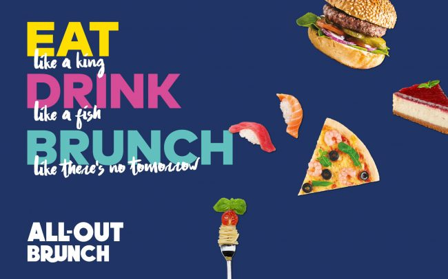 All-out Brunch Poster   Amwaj Rotana   Independent Marketing Campaign & Advertising Services   IM London
