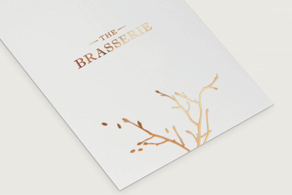 Aubrey Park Brasserie Menu   IM London   Independent Marketing