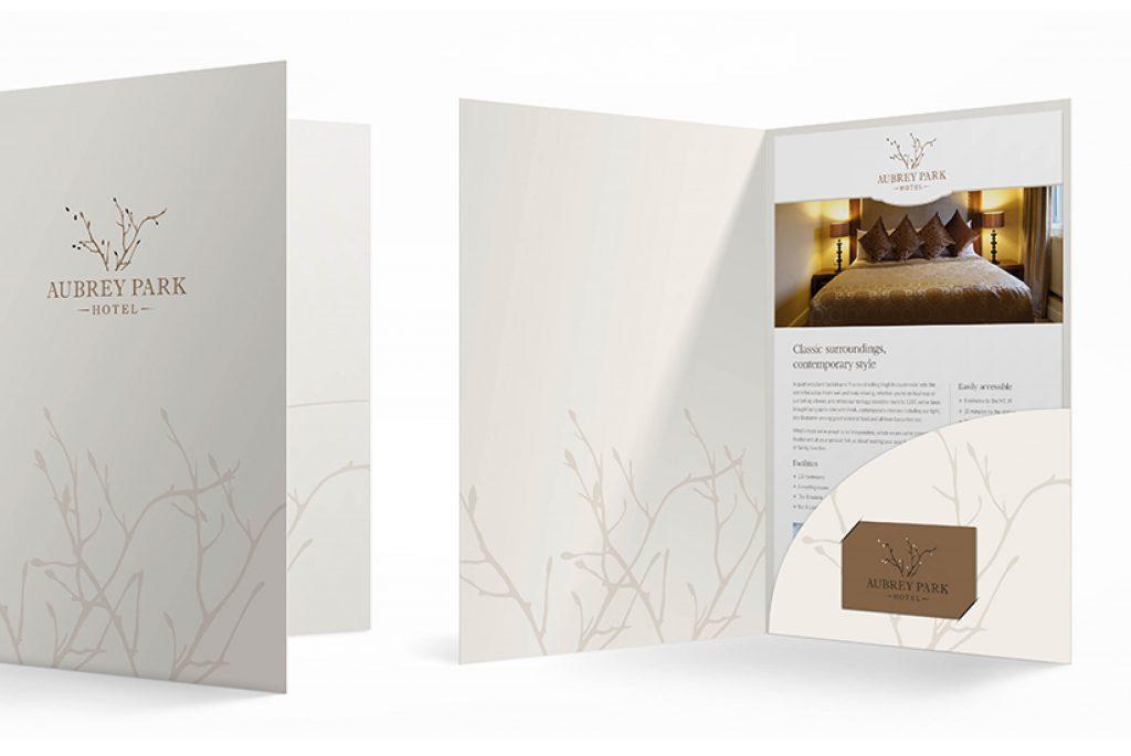 Aubrey Park MICE Folder | Independent Marketing London - London Branding Agency | IM London