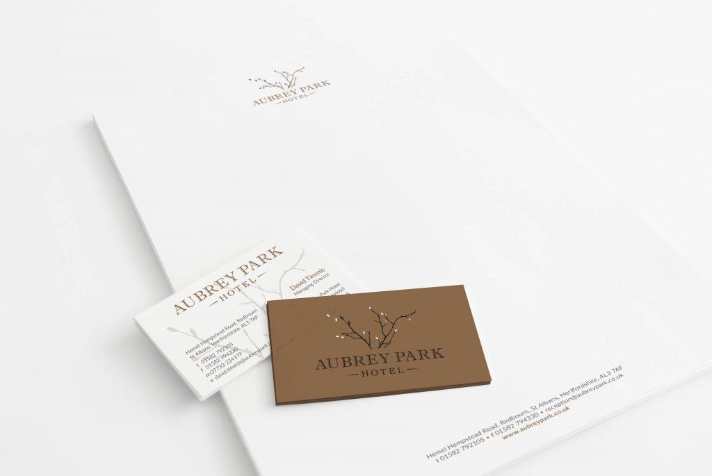 Aubrey Park stationery   Independent Marketing   IM London