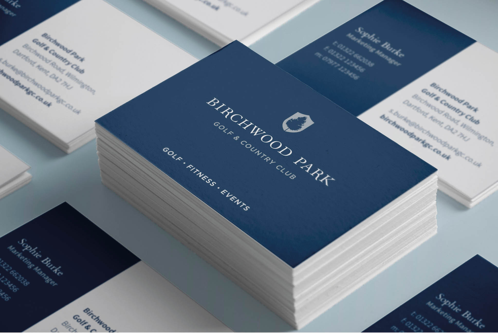 Birchwood Park Business Cards   Independent Marketing - Strategic Consulting for Branding and Marketing   BGL Golf