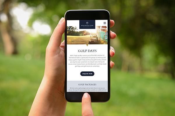 Birchwood Park website