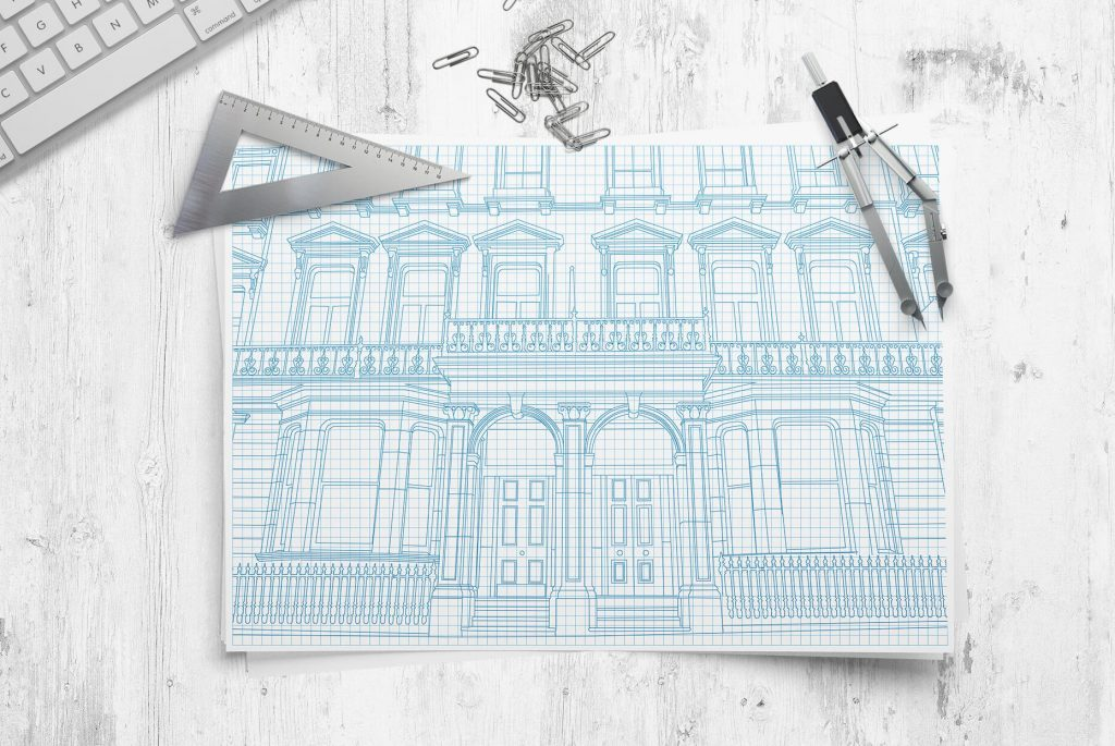 Century Capital illustration   Independent Marketing   IM London   Branding