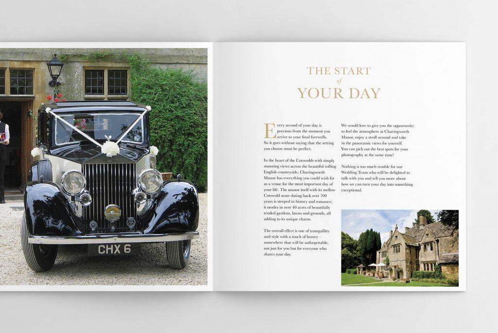 Charingworth Manor Wedding Brochure - Classic Lodges | Independent Marketing | IM London