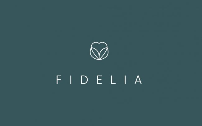 Fidelia logo | IM London | Independent Marketing London | Healthcare Branding London