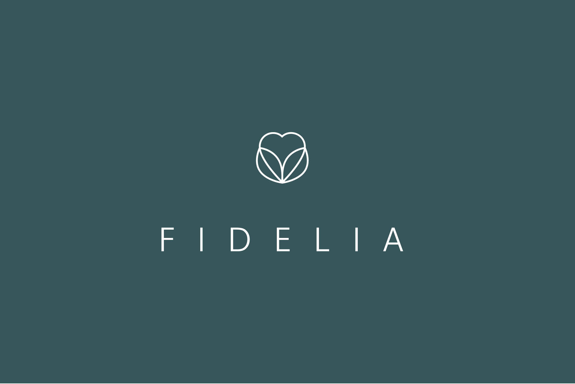 Fidelia logo | IM London | Independent Marketing London | Healthcare Branding London