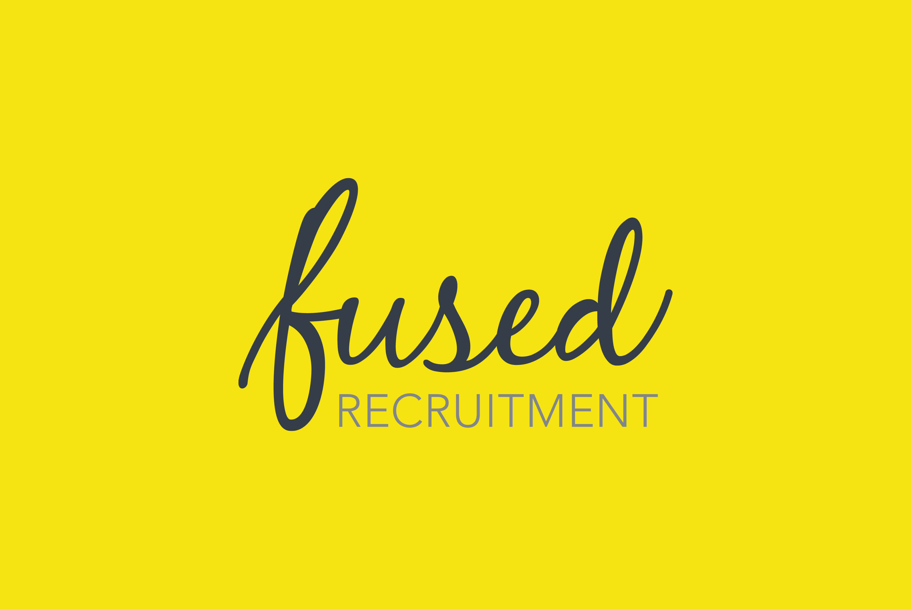 Fused Recruitment Branding | Independent Marketing - IM London | London Branding Agency