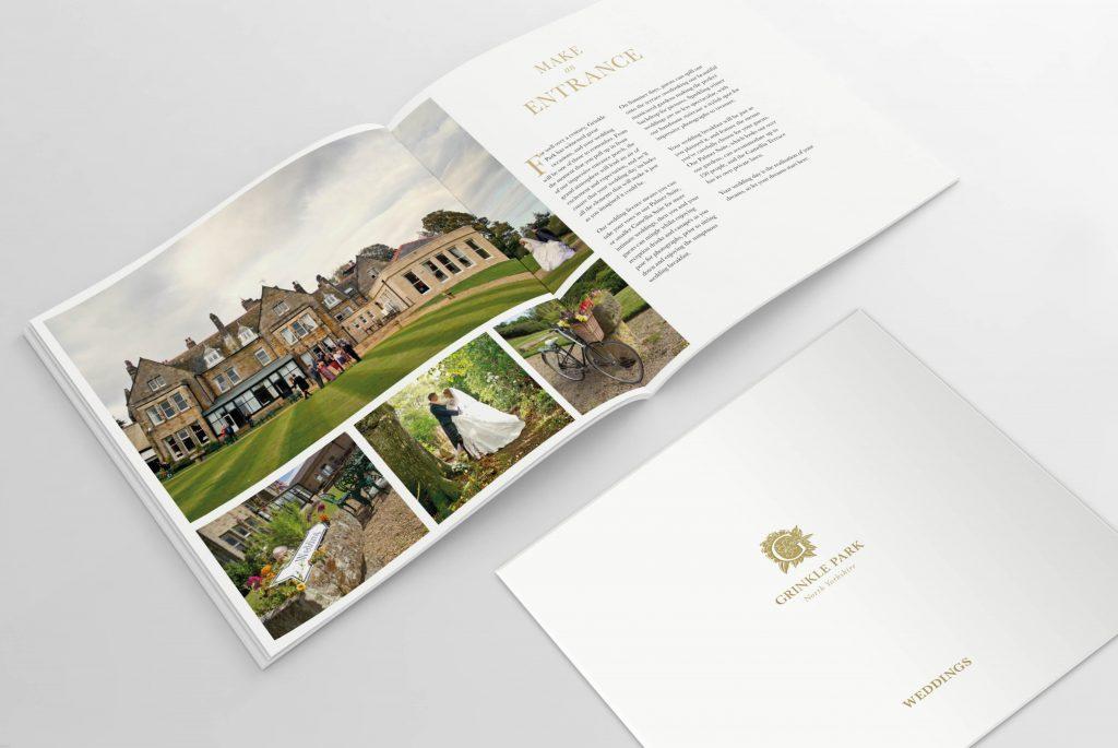 Grinkle Park Wedding Brochure - Classic Lodges | Independent Marketing | IM London