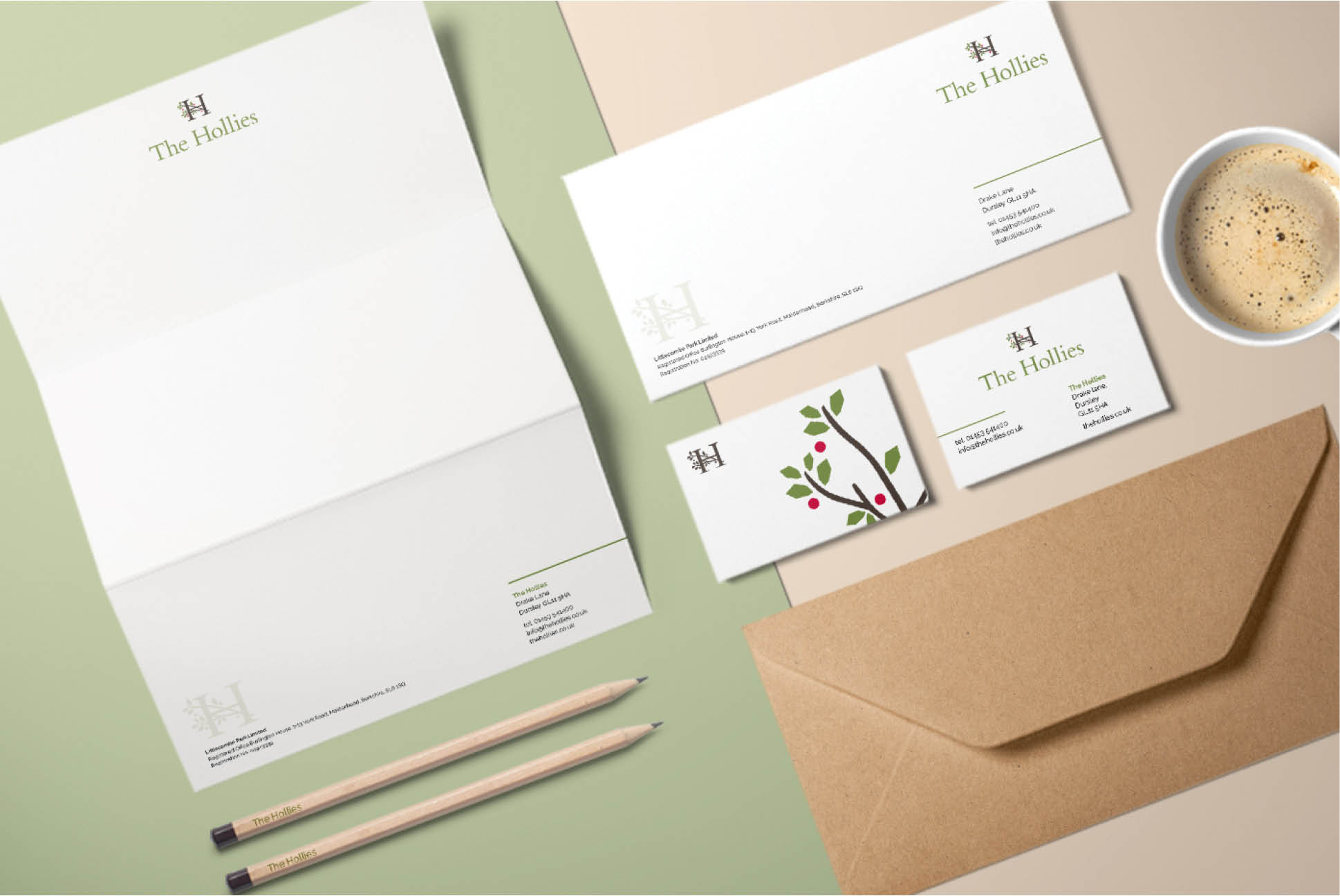 The Hollies Stationery | IM London - Independent Marketing