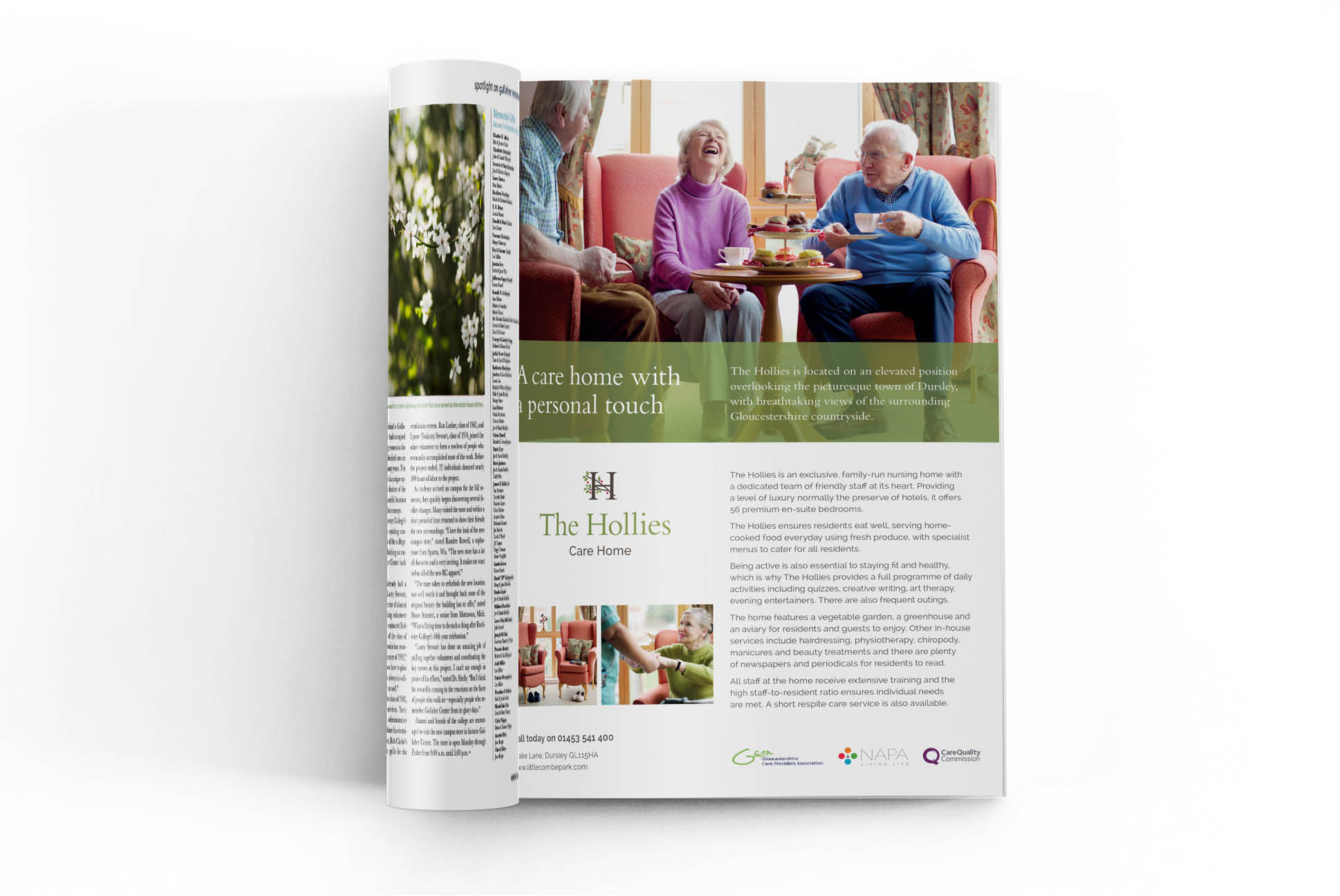 The Hollies Advertorial | IM London - Independent Marketing