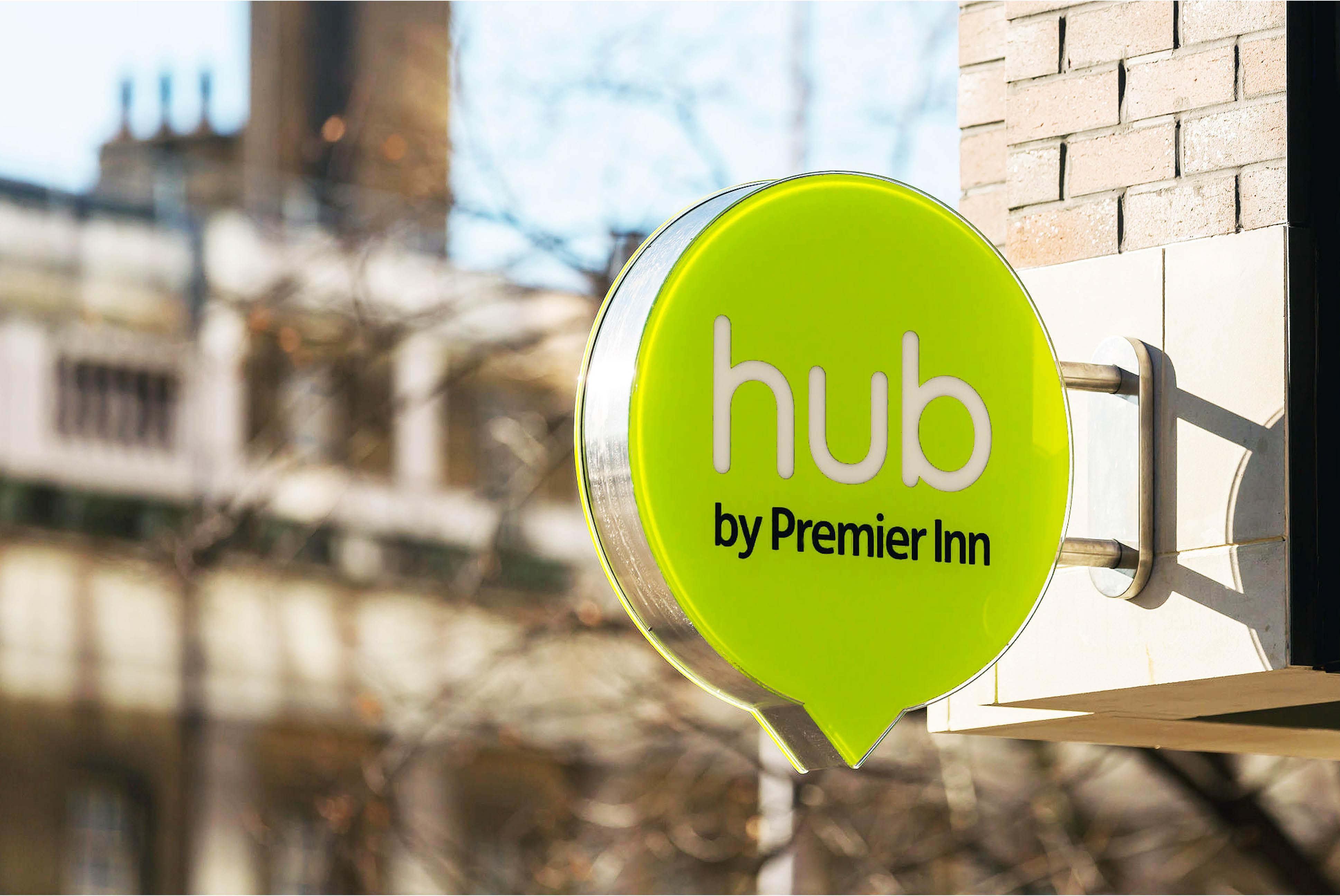 Hub by Premier Inn Signage   Independent Marketing Branding   IM London