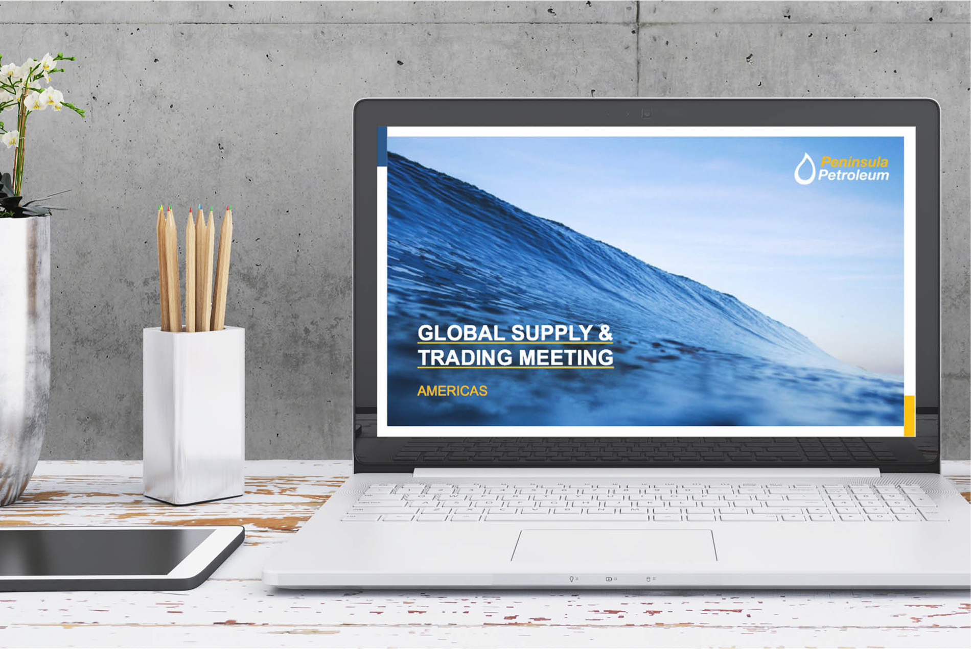 Peninsula Petroleum presentation | Branding and Marketing Services - Independent Marketing | IM London