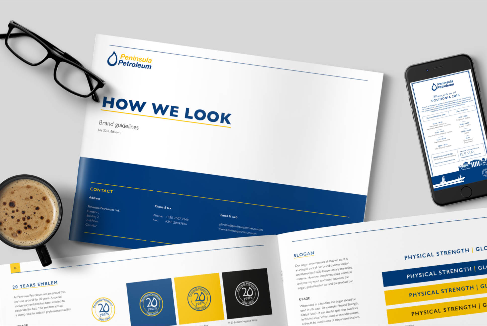 Peninsula Petroleum Brand Guidelines | Branding and Marketing Services - Independent Marketing | IM London