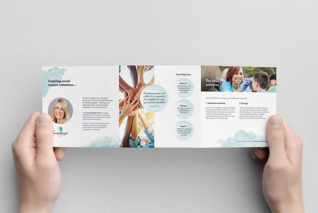 Pamela Hartigan Fund Brochure | Independent Marketing | IM London | Branding and Website Design