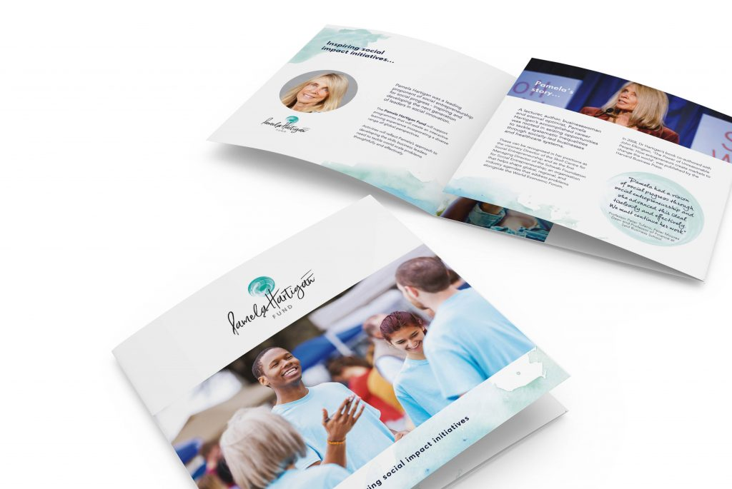 Pamela Hartigan Fund Brochure | Independent Marketing | IM London | Branding and Website Design