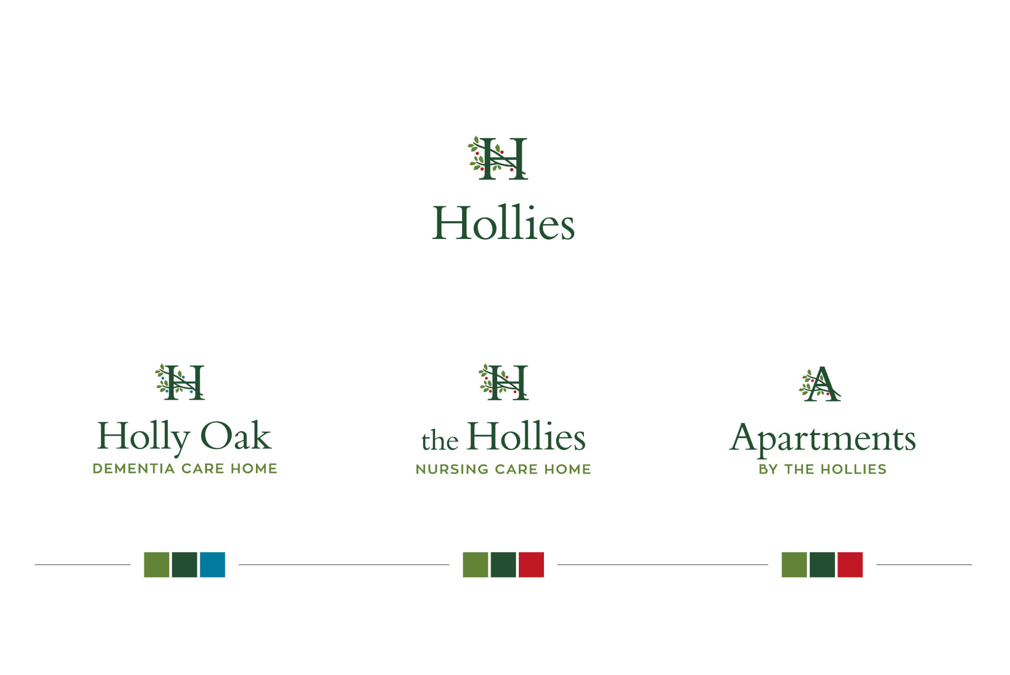 Hollies Branding