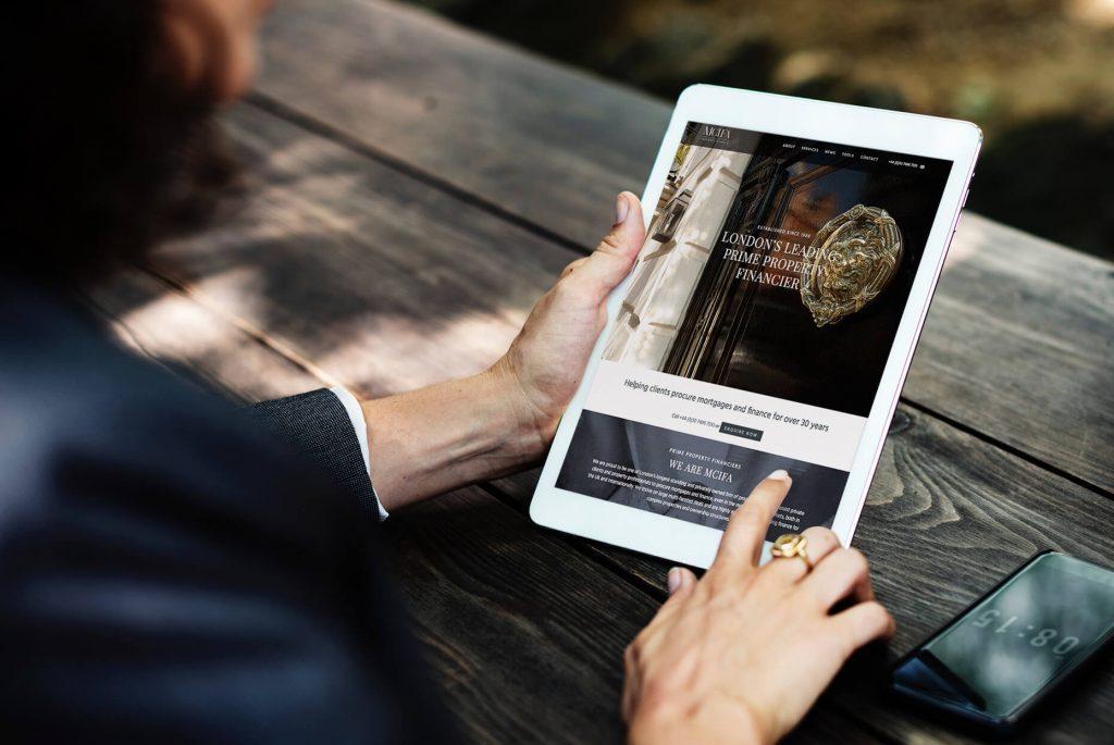 MCIFA Website | Independent Marketing | IM London