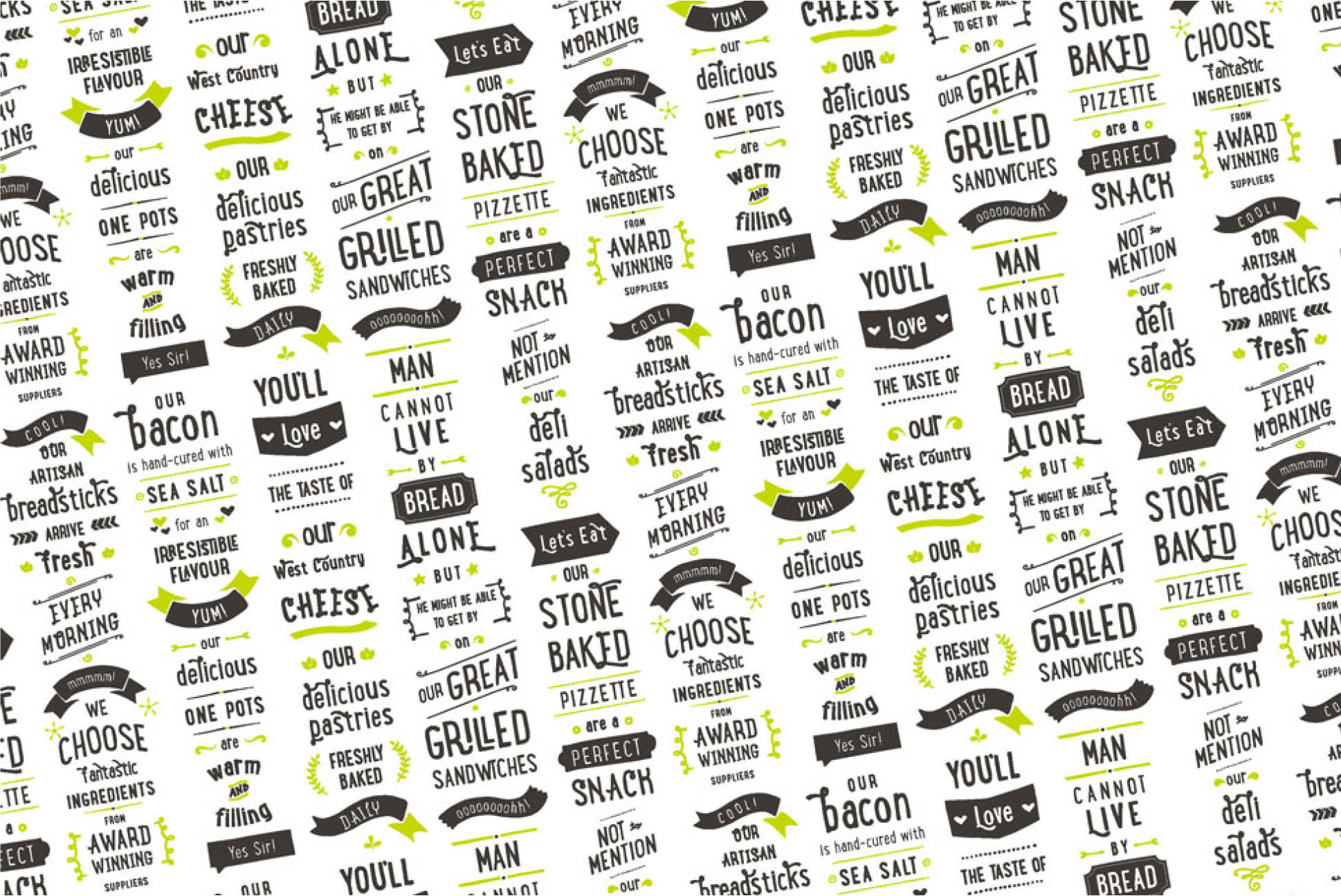 ProvenDough Wax Paper wrap | Branding and Identity Design - Independent Marketing | IM London