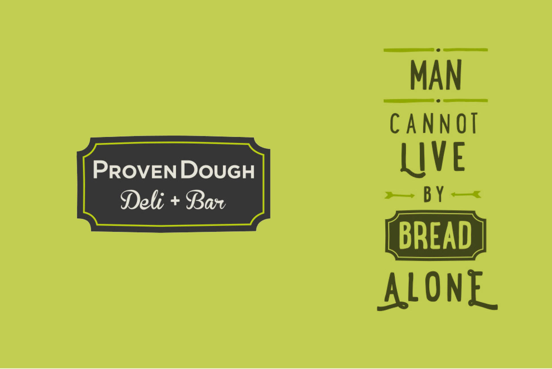 ProvenDough branding | Branding and Identity Design - Independent Marketing | IM London