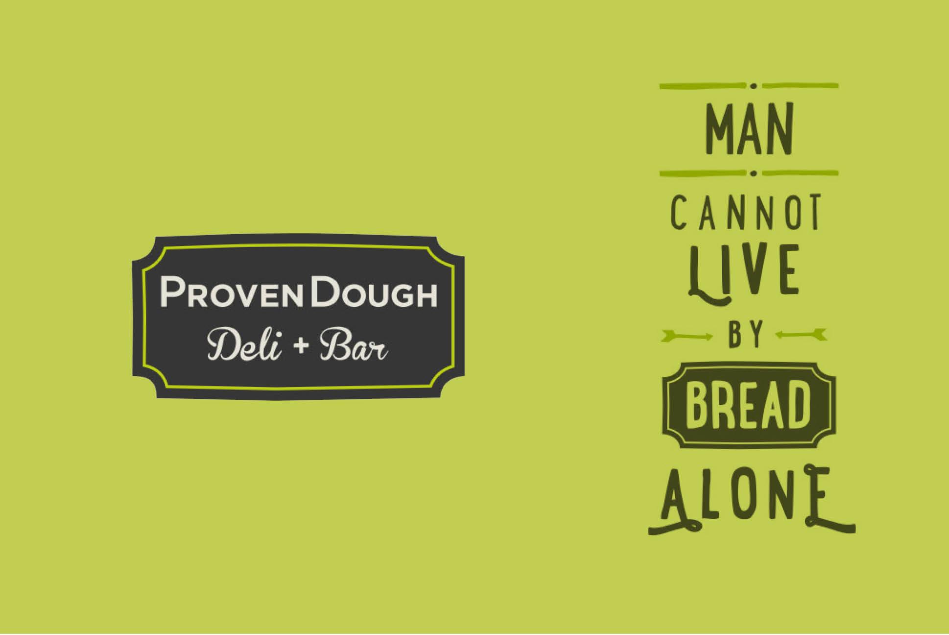 ProvenDough branding   Branding and Identity Design - Independent Marketing   IM London