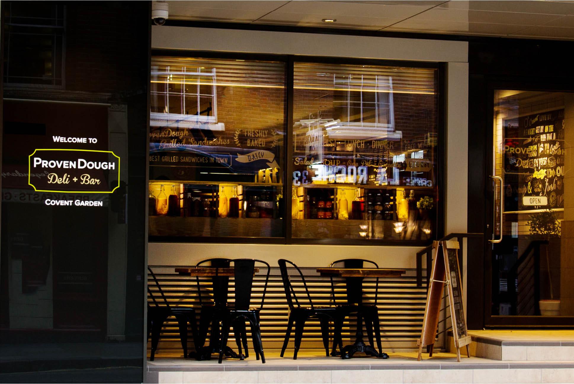 ProvenDough Signage | Branding and Identity Design - Independent Marketing | IM London