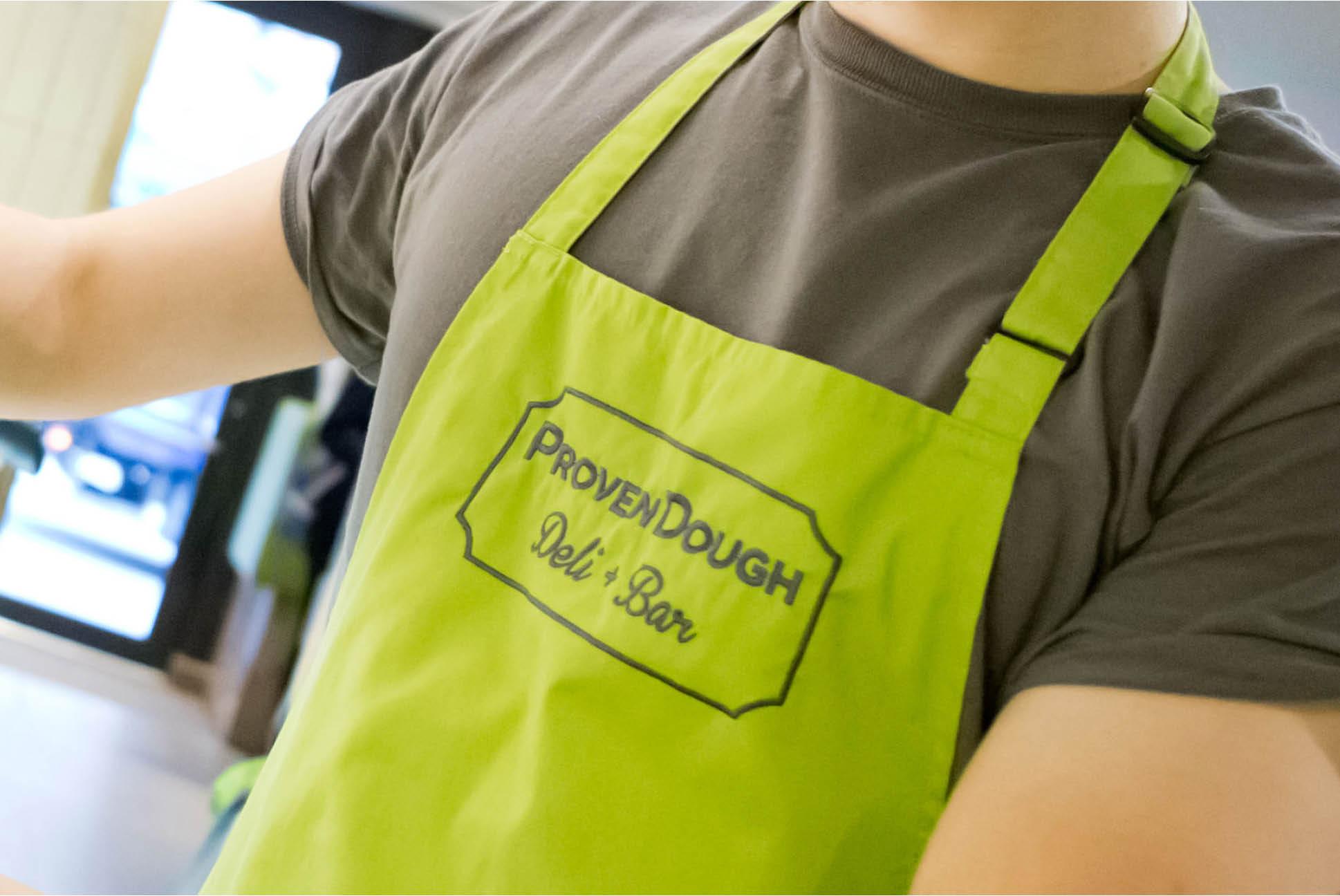 ProvenDough Uniform   Branding and Identity Design - Independent Marketing   IM London
