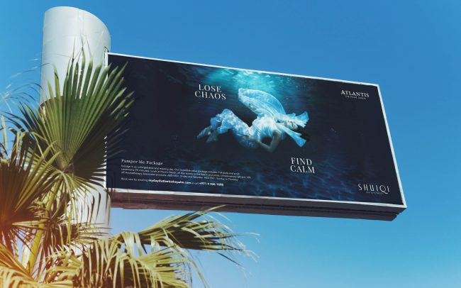 Atlantis Shuiqi Spa | Creative Advertising Campaign | independent Marketing | IM Dubai