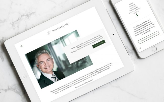 Jean Pierre Noel Executive Consulting - Executive Renumeration | Independent Marketing - Website Design and Branding | IM London