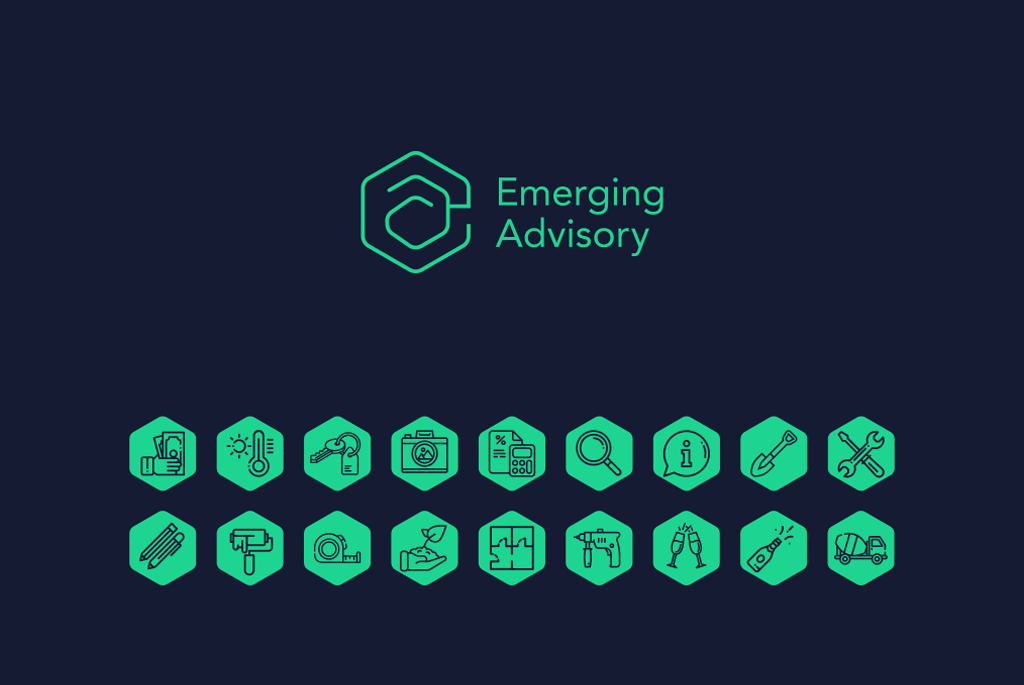 Emerging Advisory Logo & Icons