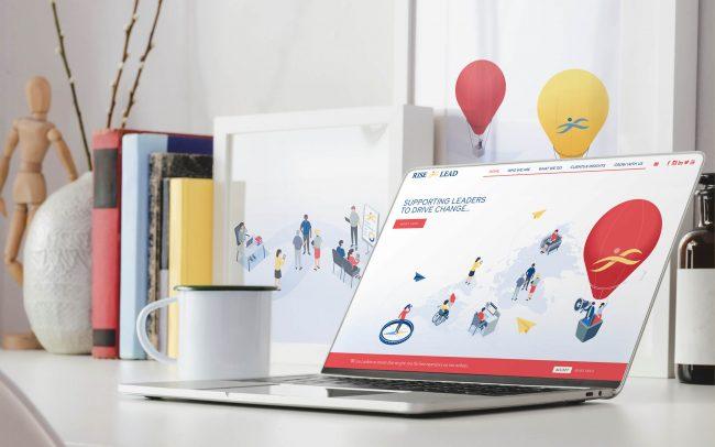 Rise & Lead Website Design