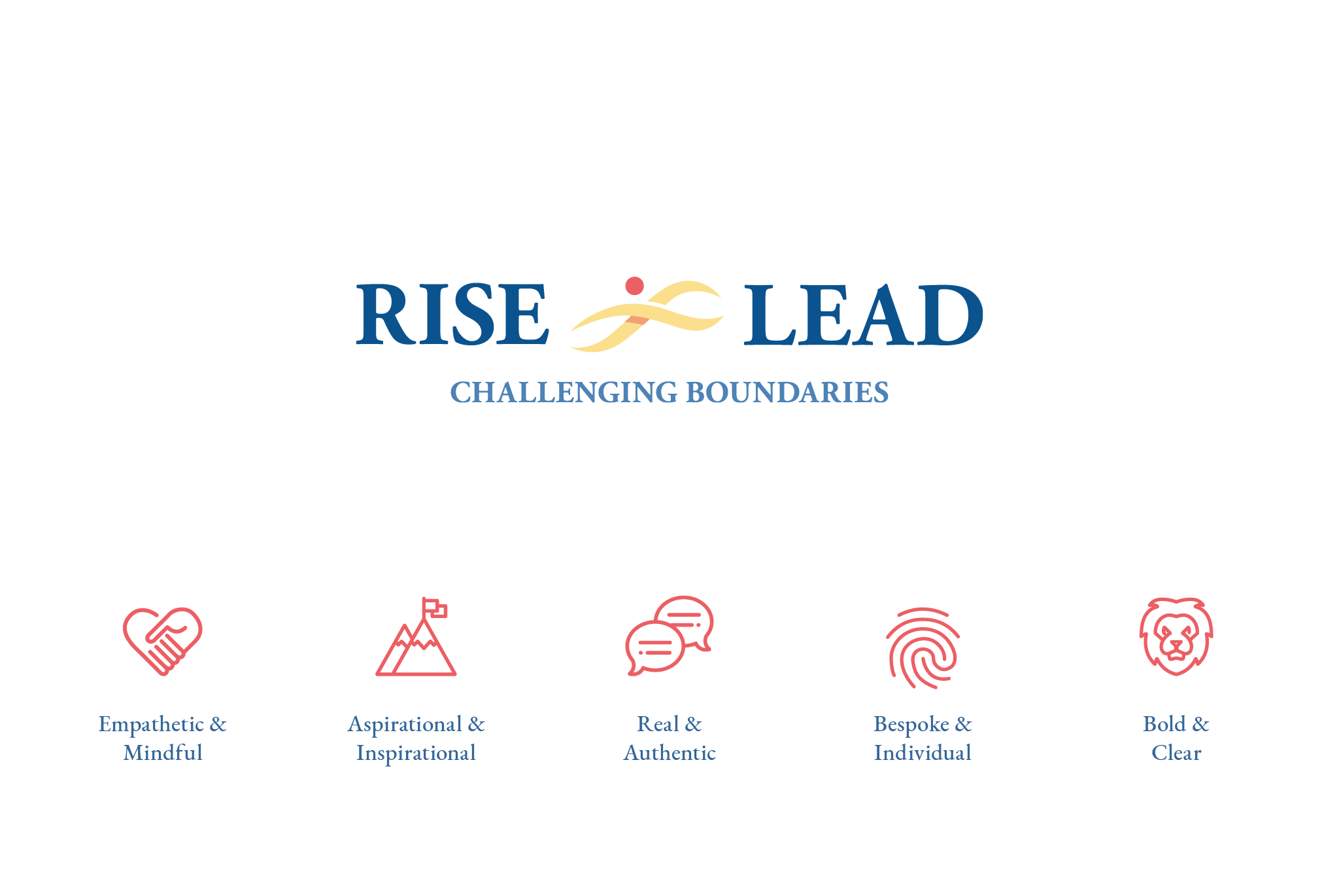 Rise & Lead Brand Identity & Values