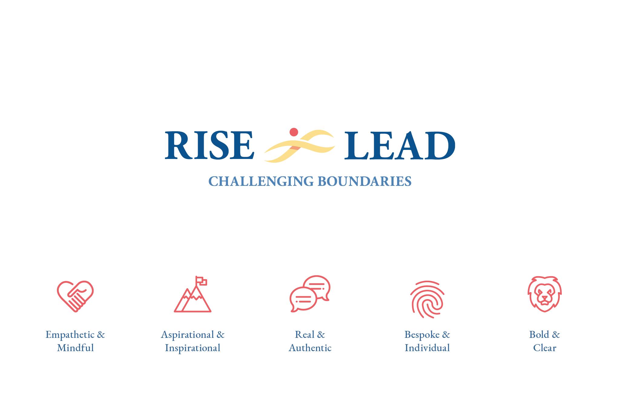 Rise & Lead Brand Identity & Values