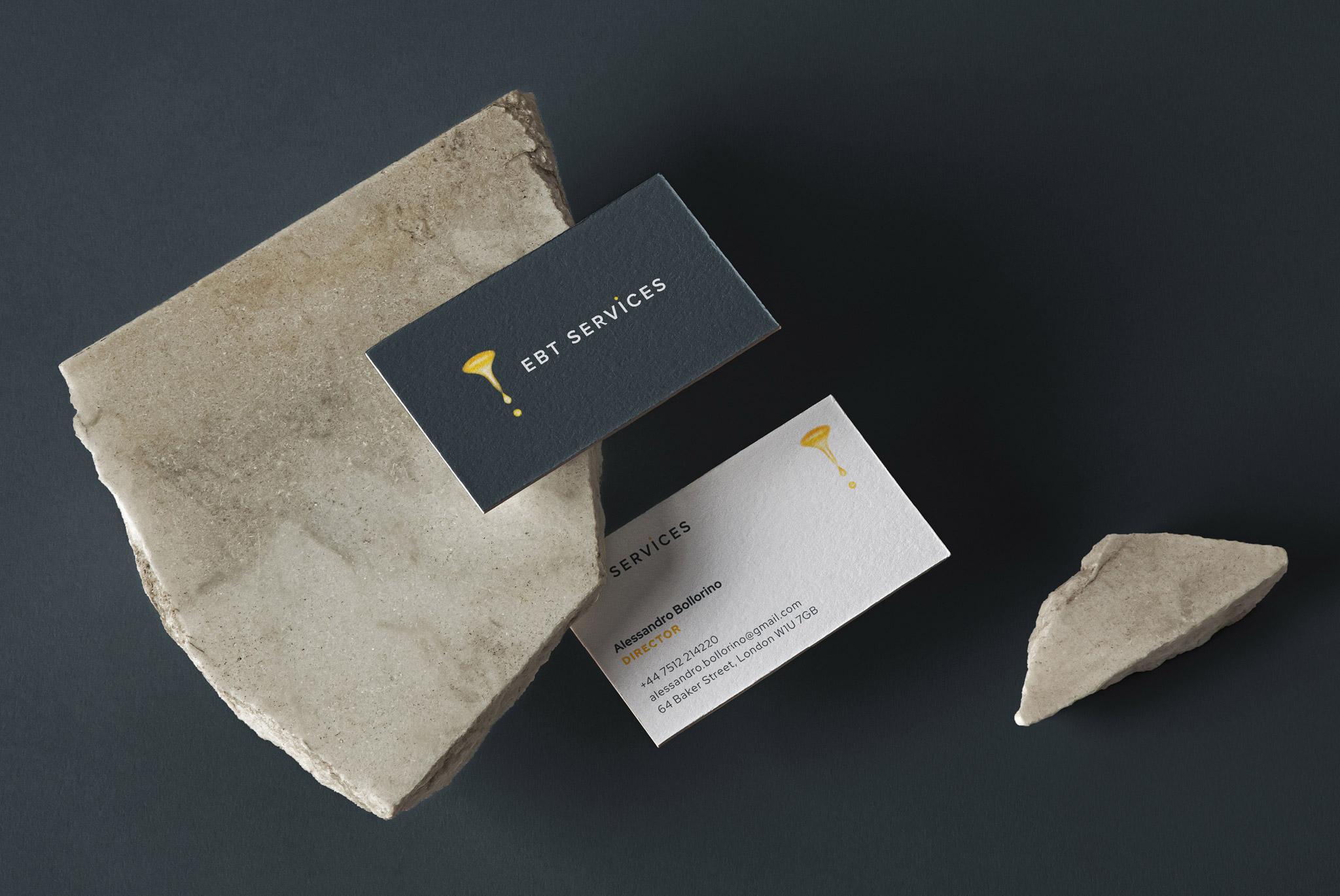 EBT Services Business Card