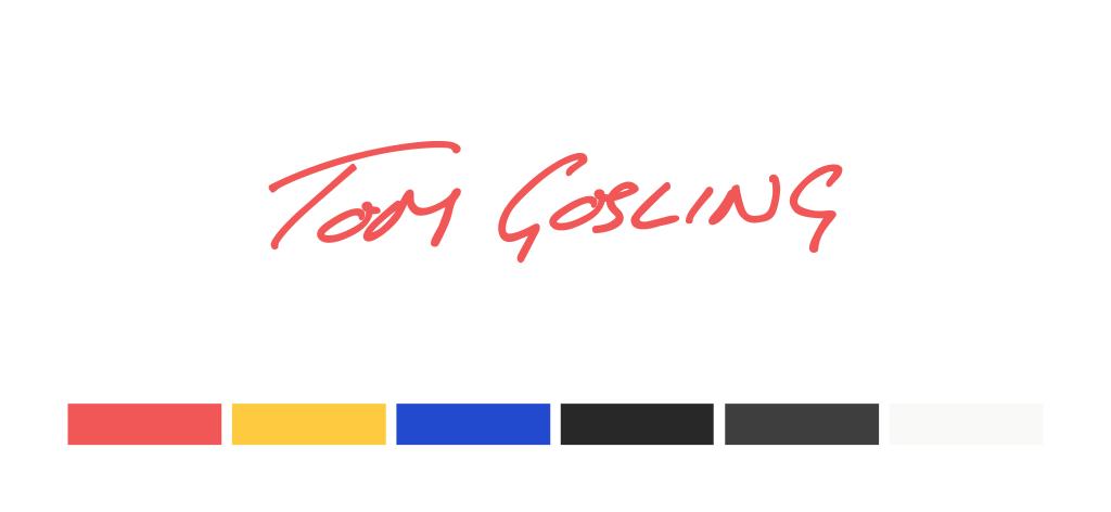 Tom Gosling Branding