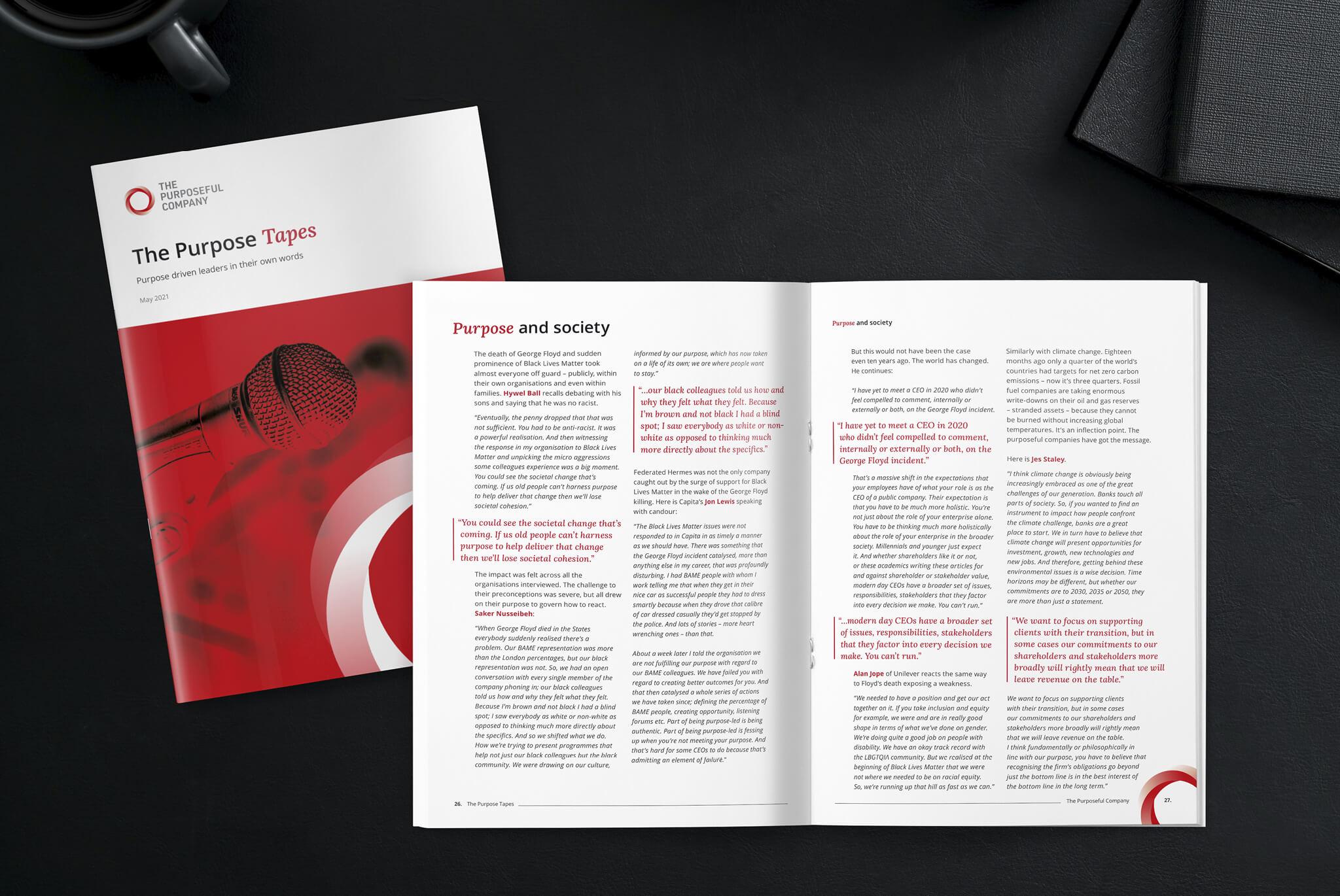 The Purposeful Company Report