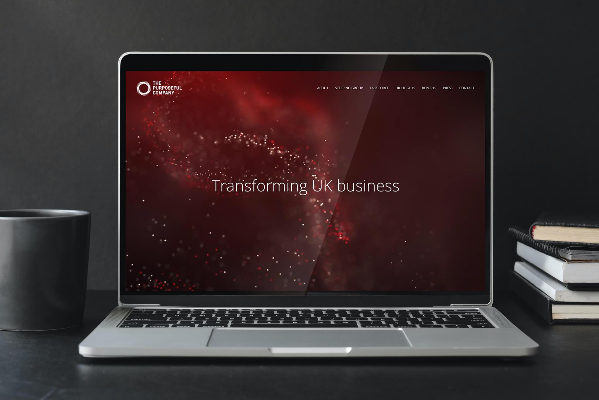 The Purposeful Company Website