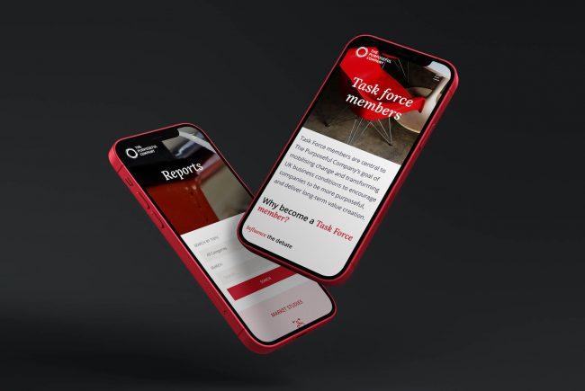The Purposeful Company Web Mobile